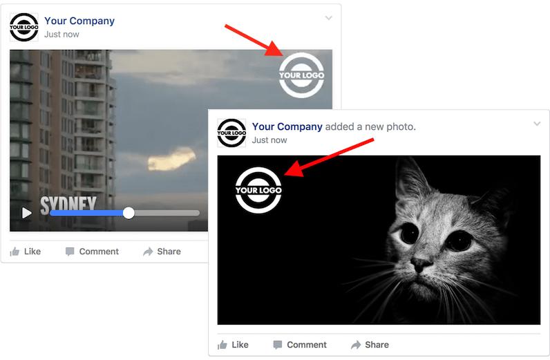 Applica logo alle tue immagini social