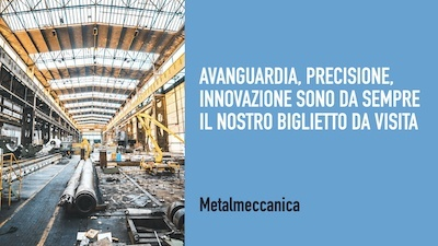 messaggio di un'azienda metalmeccanica