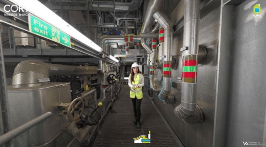 Realtà aumentata e presentazione industriale svolta da Cory per la raccolta di investimenti
